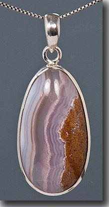 Aqua Nueva Silver Pendant