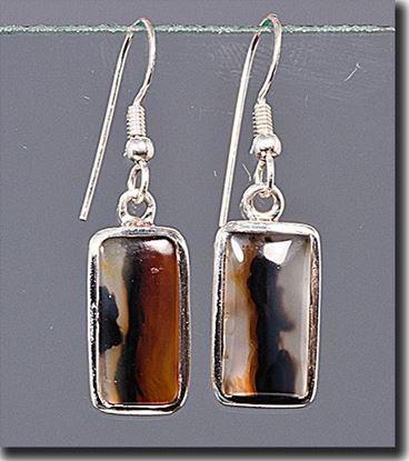 Montana Moss Agate Earrings