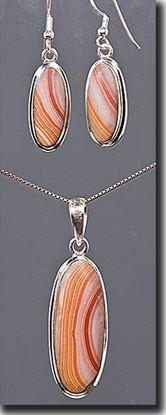 Wonder Stone Pendant & Earring Set