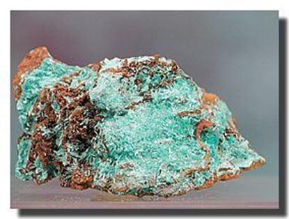 Rare  Mineral Specimen Aurichalcite Mexico