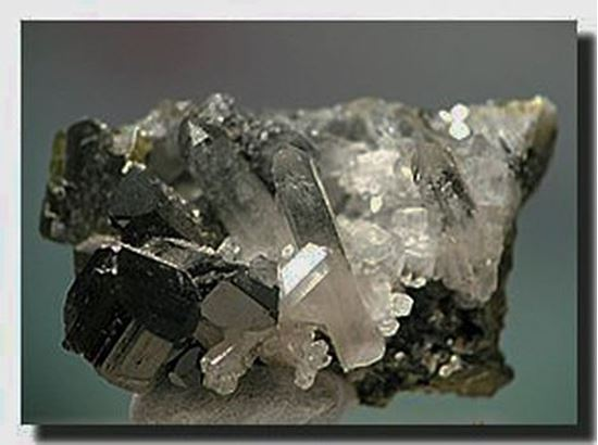 Epidote & Quartz Crystals Alaska