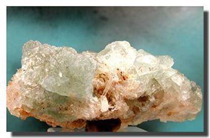 Fluorite & Quartz Mineral Specimen