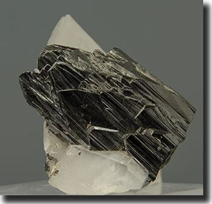 Wolframite & Quartz from Sichuan Province China