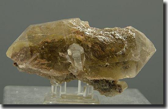 Rutilated Smoke Quartz Crystal