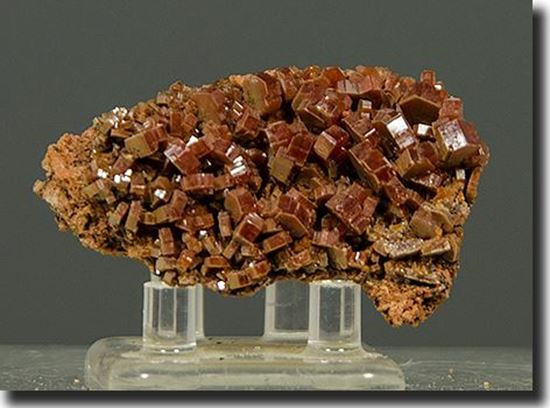 Mineral specimen Vanadinite Crystals Morocco