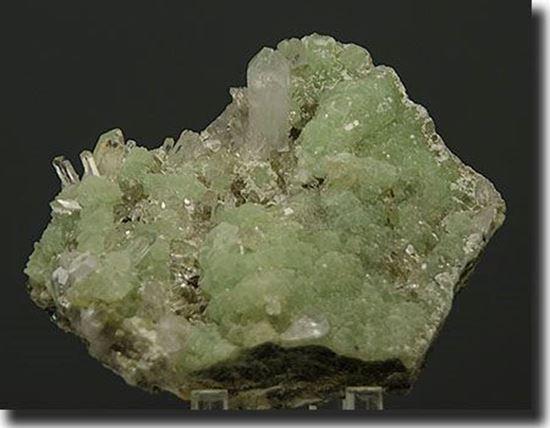 Prehnite & Quartz Mineral Specimen from Pakistan