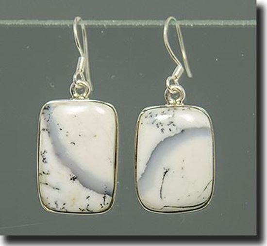 Denio Dendriric Agate Earrings