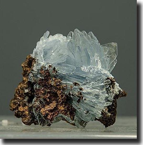 Blue Barite Crystals