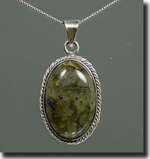 Labradorite silver Pendant